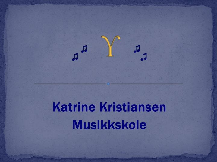Skilt Musikkskole